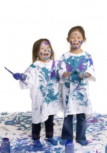 Girls Painting